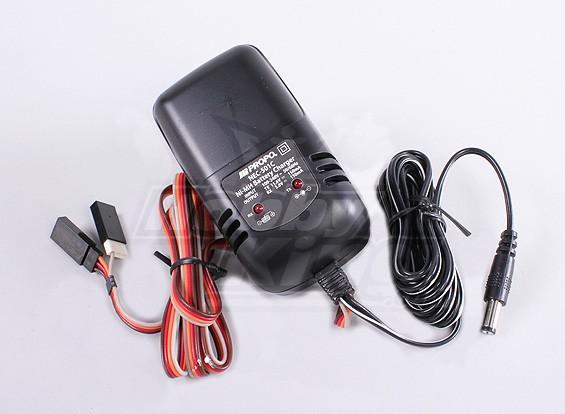 JR cargador 100 ~ 240V para TX y RX / NEC-501C (nueva versión)