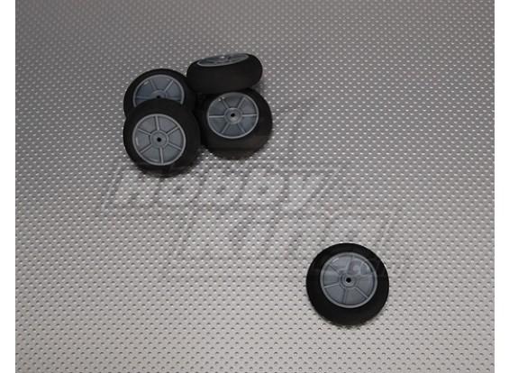 La luz de la espuma de ruedas Diam: 50, Anchura: 18,5 mm (5pcs / bolsa)