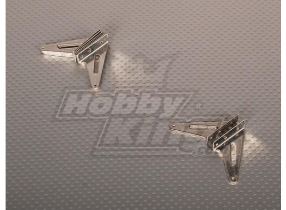 Cuerno de acero L31 x H30mm (5 pares / bolsa)