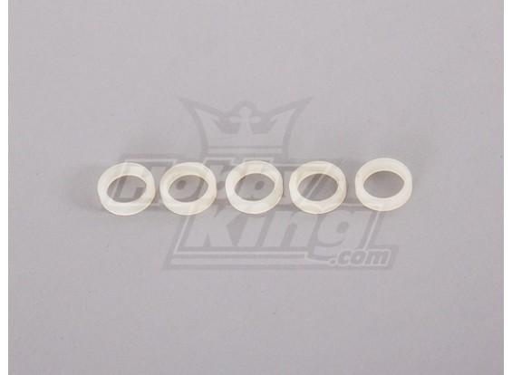 Lavadora de nylon de 10 mm (5pcs)