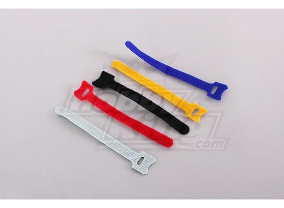 150 mm de cinta de la batería - color (5 piezas / bolsa)