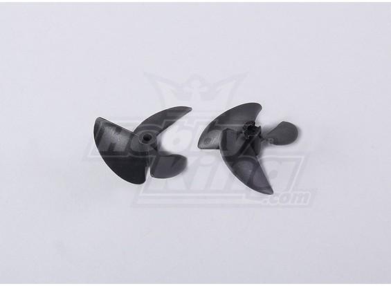 3-Blade Barco Propulsores 40x57mm (2pcs / bolsa)
