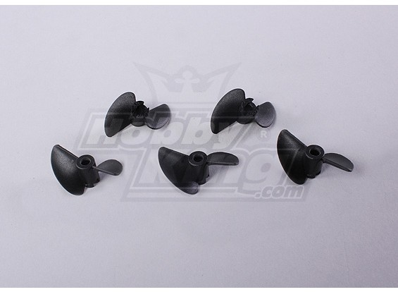 2-Blade Barco Propulsores 40x27mm (5pcs / bolsa)