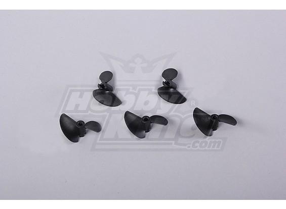 2-Blade Barco Propulsores 40x32mm (5pcs / bolsa)