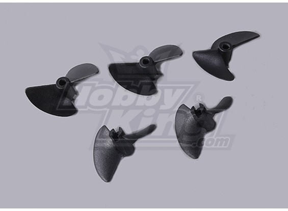 2-Blade Barco Propulsores 40x35mm (5pcs / bolsa)
