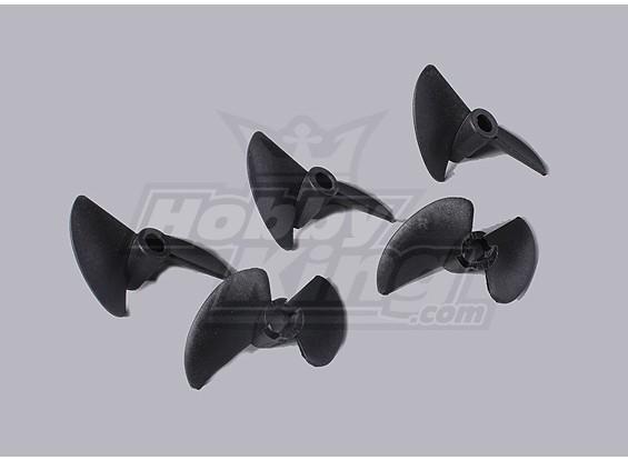 2-Blade Barco Propulsores 40x38mm (5pcs / bolsa)