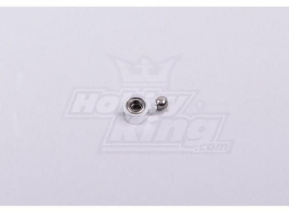 450 Tamaño Heli cola del metal deslizador de control de la manga w / Bearings