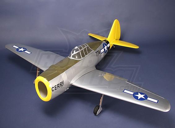 Kit 55.5inch P47 Thunderbolt .46 fibra de vidrio