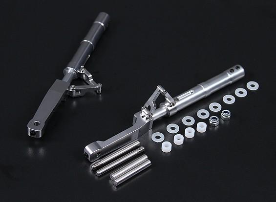 Las piernas de la aleación Oleo Offset P-47 Estilo 140mm 2pc