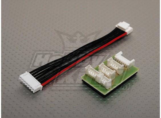 enchufe adaptador TP Coversion Junta W / Quattro 4x6s cargador