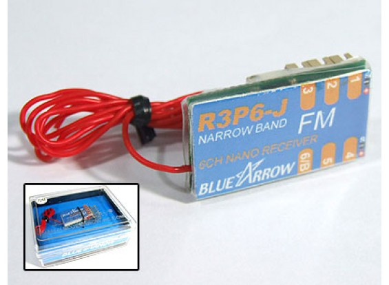 Flecha 6CH 3,8 g 72MHz Micro Receptor de FM
