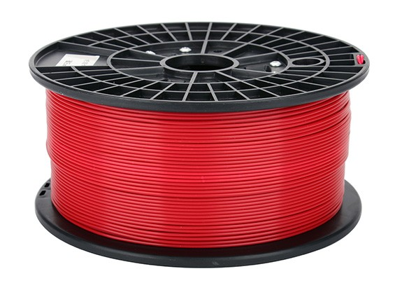 CoLiDo 3D Filamento impresora 1.75mm PLA 1kg Carrete (rojo)