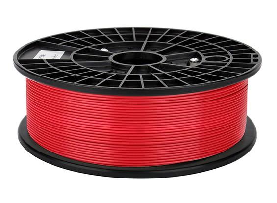 CoLiDo 3D Filamento impresora 1.75mm ABS 500G Carrete (rojo)