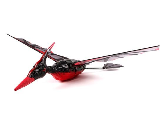 Pterodáctilo Ornithopter PPE Compuesto 1300mm Roja (RTF) (Modo 2) (enchufe de EE.UU.)