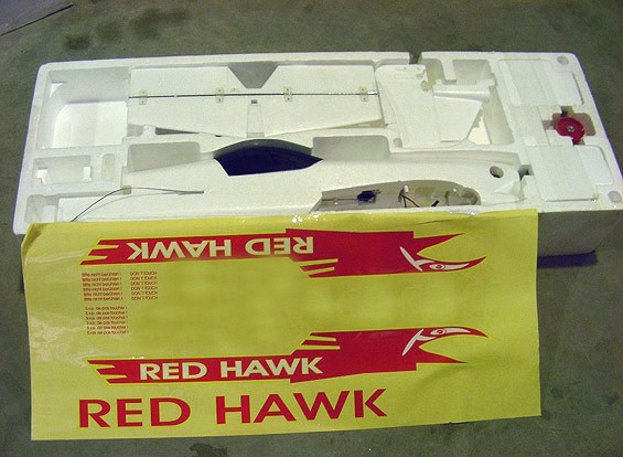 SCRATCH / DENT Red Hawk 1000mm (ARF) (AUS Almacén)