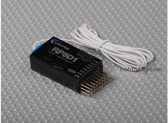 35Mhz Corona Sintetizado Dual-Conv receptor 8Ch