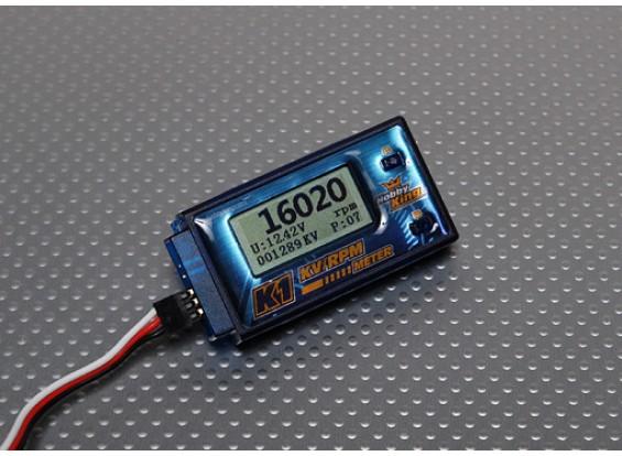 HobbyKing K1 Medidor de RPM-KV para BL Motors