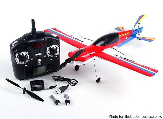 SCRATCH / DENT - WLToys F939 PoleCat 400 mm 2.4G 4CH Modo 2 (listo para volar)