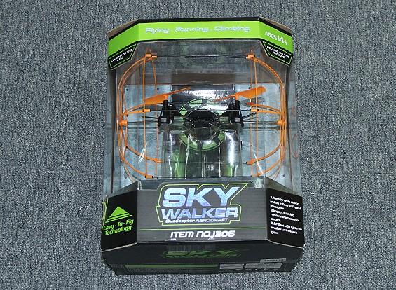 SCRATCH / DENT - Skywalker enjaulado Quadcopter con el transmisor de 2,4 GHz (Modo 2) (RTF)