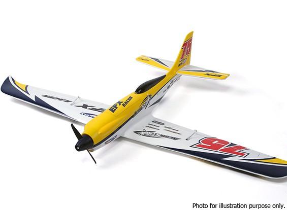 SCRATCH / DENT - Durafly ™ EFX Racer Modelo de alto rendimiento deportivo (PNF) - Edición Amarillo