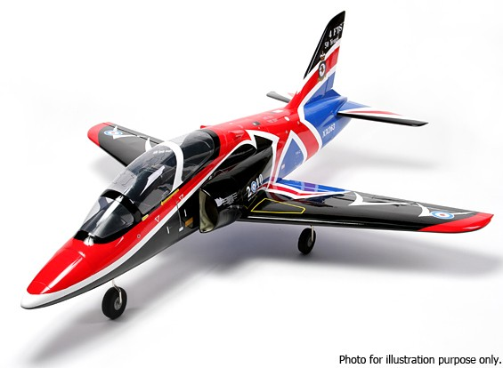 SCRATCH / DENT - HobbyKing® ™ BAE Hawk 90mm EDF Compuesto 1140mm (ARF)