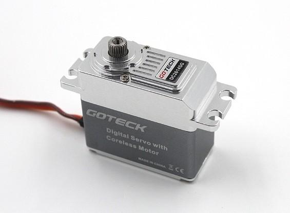 SCRATCH / DENT - MG metal Goteck DC2614S digital Entubado de alto par Servo 77g / 16kg / 0.12sec