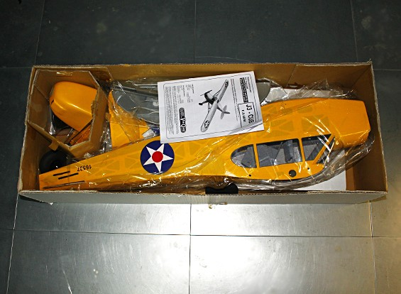 SCRATCH / DENT - Piper J-3 Cub Balsa GP / 1620mm EP (ARF)