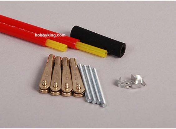 Sullivan Gold-N-Rod 36 pulgadas / 91cm 2sets flexibles