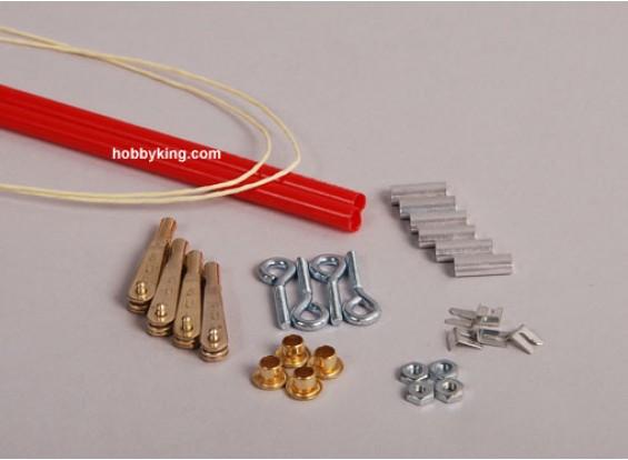 Sullivan Gold-N-Rod 3,65 m / 12 pies de Kevlar pull-pull