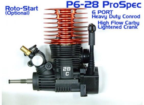 .28 6 Puerto SH ProSpec w / Pullstart