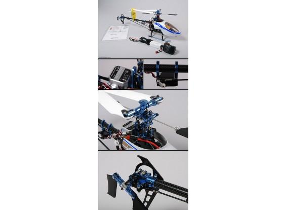Arte-tecnología Shark 450 helicópteros 3D
