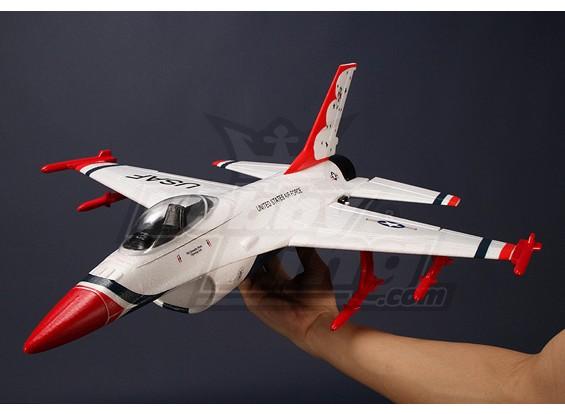 Mini EDF del avión de combate, la EPO PNF