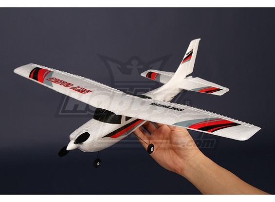 Micro avión ligero 2.4Ghz Avión w / 2.4Ghz Ready-2-Fly
