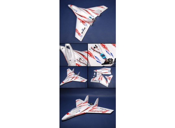SkyFun Jet w / motor sin escobillas Plug - & - Fly