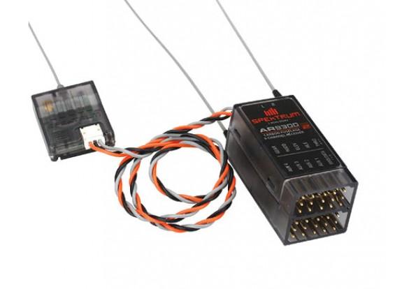 AR9300 DSM2 9-canal receptor de carbono del fuselaje