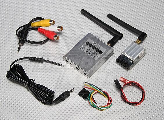 SkyZone 5.8Ghz 200MW FPV Wireless AV Tx y Rx Conjunto