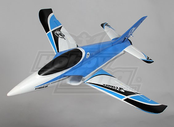 Stinger 64 EDF Sport Jet 700mm azul EPO (RTF - Modo 1)