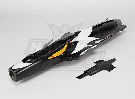 Reemplazo T50 fuselaje, Negro