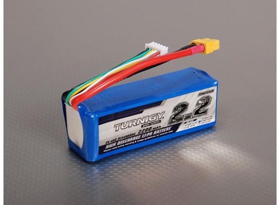 Lipo 35C Paquete Turnigy 2200mAh 4S
