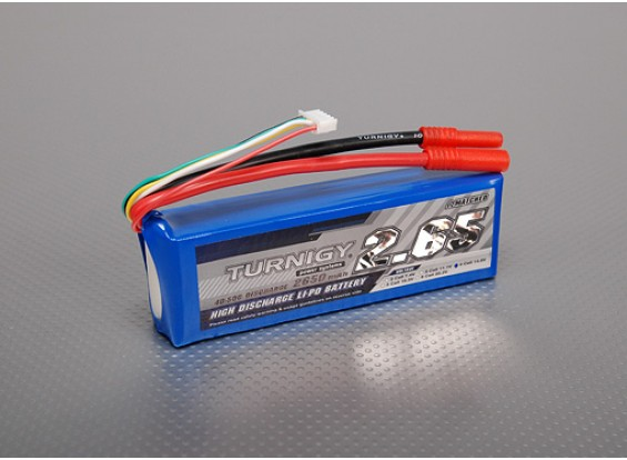 Lipo 40C Paquete Turnigy 2650mAh 4S