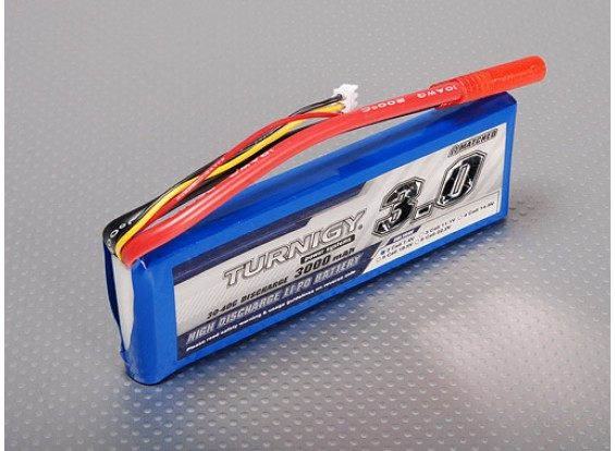 Turnigy 3000mAh 2S Lipo 30C Paquete