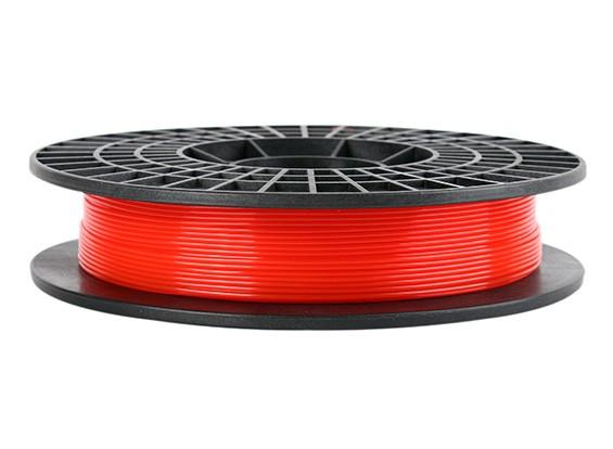 CoLiDo 3D Filamento impresora 1.75mm PLA 500G Carrete (rojo translúcido)