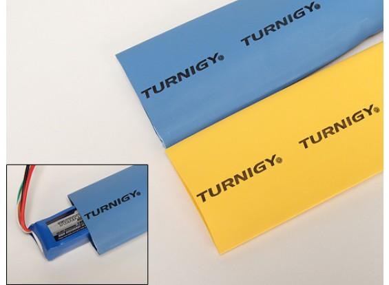 Turnigy del encogimiento del calor del tubo de 50mm amarillo (1mtr)