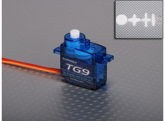 Turnigy TG9 9 g / 1,6 kg / 0.12sec servo micro