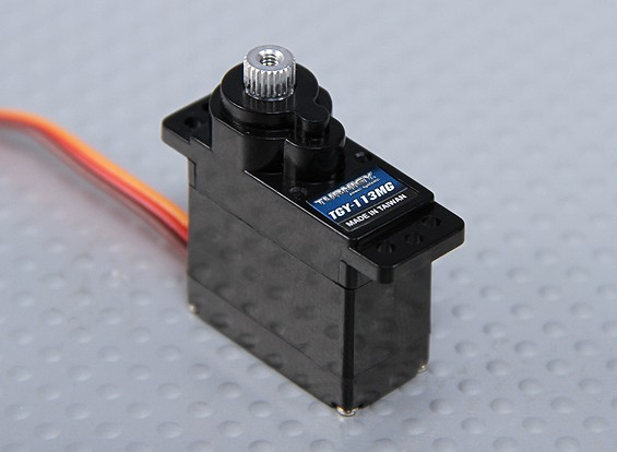 Turnigy ™ TGY-113 mg DS / 2,2 kg MG Servo / 0.10s / 12g