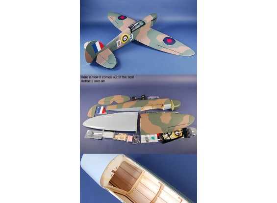 TM Spitfire .60 ARF (90% completa)