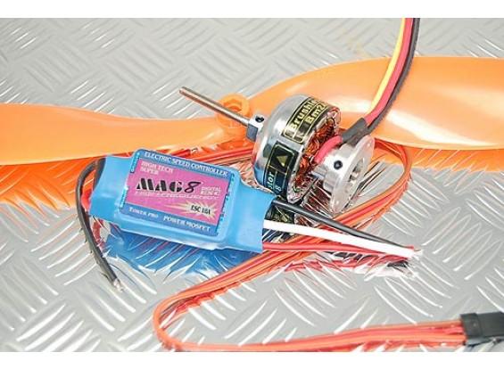 Towerpro BM2410-08T / 18A BEC / 9x3.8 Prop Combo