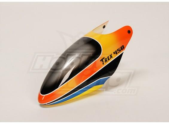 Canopy de fibra de vidrio para Trex-450 V2
