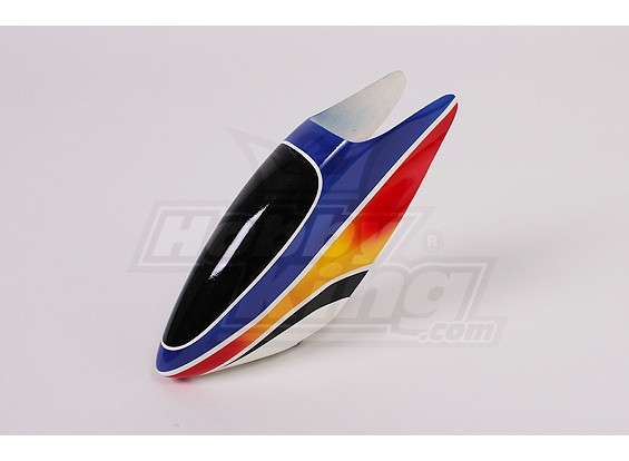 Canopy de fibra de vidrio para Trex-500