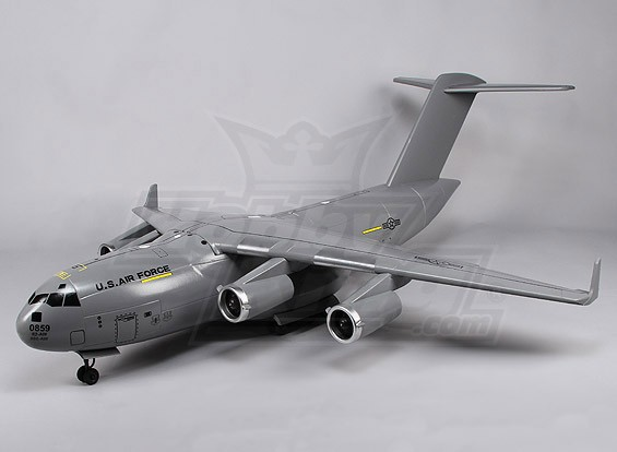 USAF C17 Globemaster III EDF Cargo Jet (P & P)